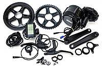 Електричний велонабір Bafang 48В 500Вт BBS02 68мм 46T дисплей С965, ручка газу, гальмівні ручки