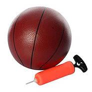 Баскетбольное кольцо MR 0071 на ремнях, щит, кольцо, мяч, сетка, в сумке, фото 2
