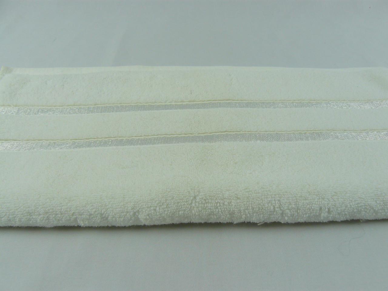 Полотенце  махровое Hobby 50х90, белое,  560 г/м²
