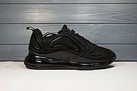 Мужские кроссовки черные Nike Air Max 720