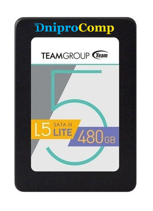 """Накопичувач SSD 2.5"""" 480GB Team (T2535T480G0C101)"""