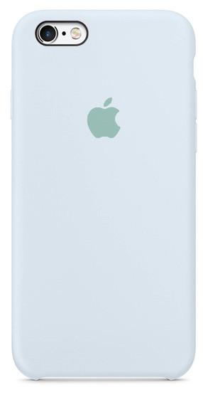 Задняя накладка Hi-Copy Silicone Case APPLE IPHONE 6 | 6S (№43 SKY BLUE)