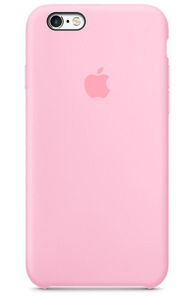 Задняя накладка Hi-Copy Silicone Case APPLE IPHONE 6   6S (№6 PINK)
