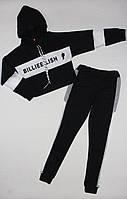 Спортивный костюм BELLIE EILSH чёрного цвета для девочки 8 лет