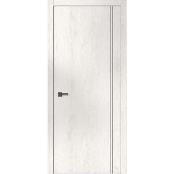 """Межкомнатные двери """"WakeWood"""" Forte 09 (глухое полотно + вертикальный молдинг)"""