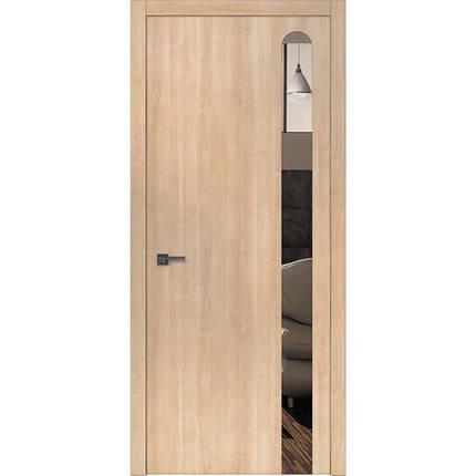 """Межкомнатные двери """"WakeWood"""" Forte 06 (декор - окраш стекло или зеркало с овальным основанием), фото 2"""