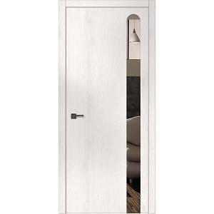 """Межкомнатные двери """"WakeWood"""" Forte 06 (декор - окраш стекло или зеркало с овальным основанием)"""