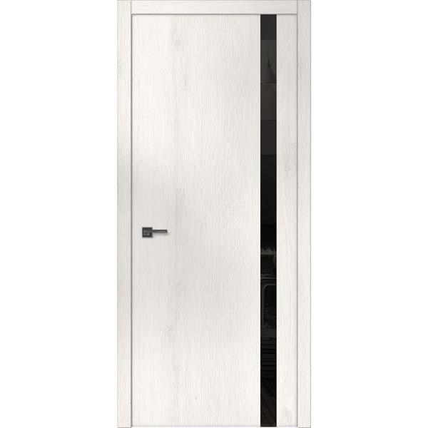 """Межкомнатные двери """"WakeWood"""" Forte 02 (верт. полоса окраш. стекла или зеркала)"""