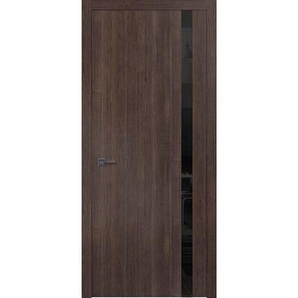 "Межкомнатные двери ""WakeWood"" Forte 02 (верт. полоса окраш. стекла или зеркала), фото 2"