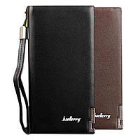 Мужской стильный кошелек портмоне клатч Baellerry Classic (19 х 10 х 3,5 см)