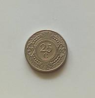 25 центов Нидерландские Антильские острова 2009 г., фото 1