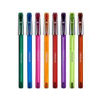 Ручка кулькова Trio Neon DC синя, Unimax (50)