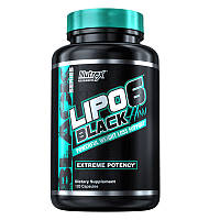 Жиросжигатель Nutrex Research Lipo-6 Black Hers Powerful, 120 капсул