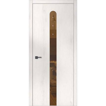 """Межкомнатные двери """"WakeWood"""" Forte 07 (окраш стекло или зеркало + Swarovsky), фото 2"""