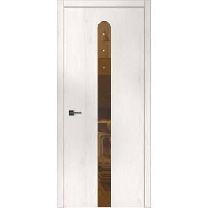 """Межкомнатные двери """"WakeWood"""" Forte 07 (окраш стекло или зеркало + Swarovsky)"""