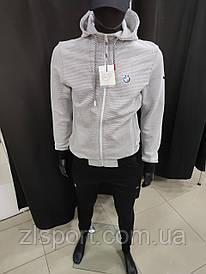 Качественный спортивный костюм Puma BMW с капюшоном штаны на манжете Турция