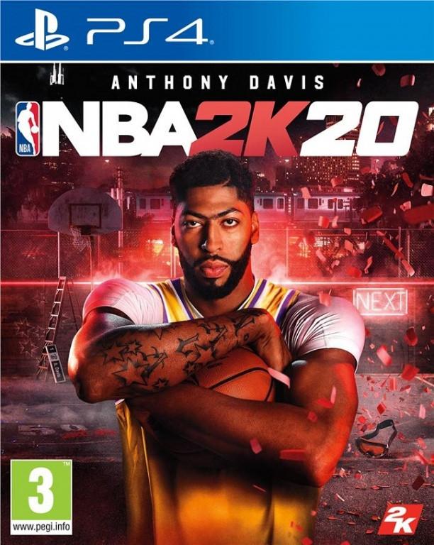 Игровой диск NBA 2K20 для PS4