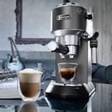 Рожковая кофеварка DeLonghi EC 685 BK Dedica 01308, фото 4