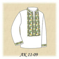 Заготовка сорочки под вышивку бисером детская (мальчиковая) bbbf98b33c198