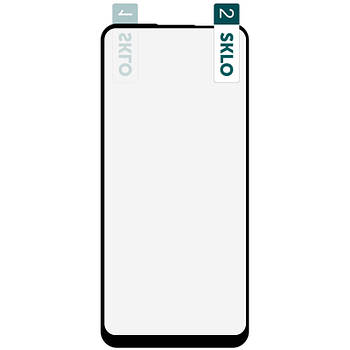 Гибкое защитное стекло SKLO Nano (тех.пак) для Samsung Galaxy A11