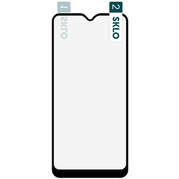 Гибкое защитное стекло SKLO Nano (тех.пак) для Samsung Galaxy A01