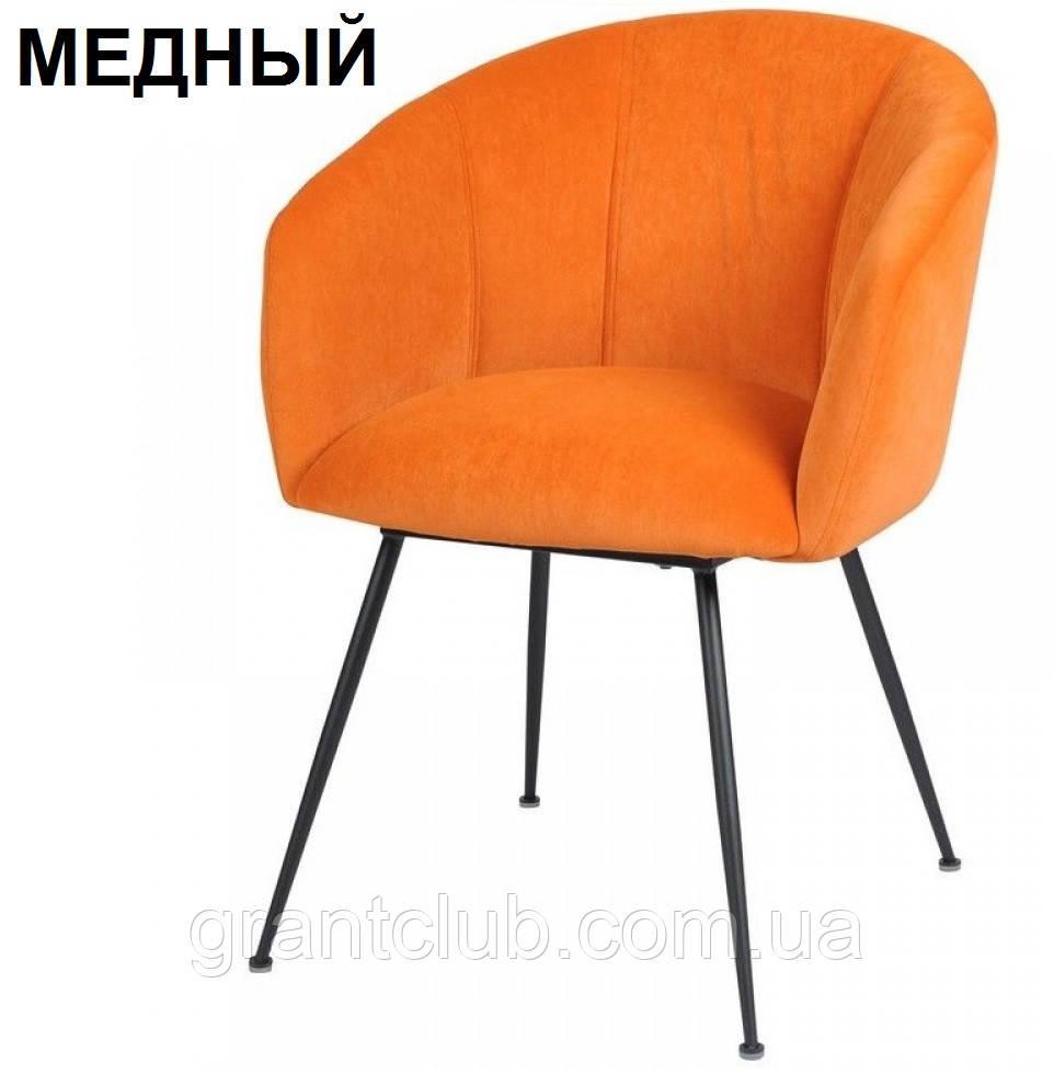 Мягкий стул M-60 медный вельвет Vetro Mebel