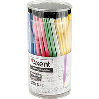 Олівець графітний HB у тубі Axent (100)