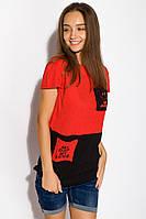 Футболка женская 317F055 (Красный), фото 1
