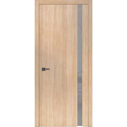 """Межкомнатные двери """"WakeWood"""" Forte plus 02 (одно стекло на просвет. Сатин с непетлевой стороны), фото 2"""