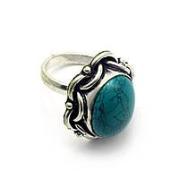 Перстень женский с бирюзой