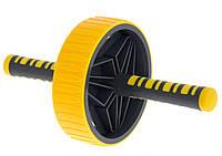 Колесо для преса Power System Multi-core AB Wheel PS-4034 (PS-4034_Yellow-Grey)
