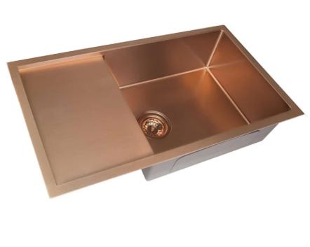 Мийка для кухні (бронза) прямокутна 9-064