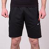 Чоловічі трикотажні шорти NIKE, чорного кольору, фото 2