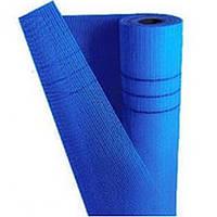 Сетка фасадная штукатурная DOMUS 145грм/м.кв синяя 5мм*5мм (50кв.м) строительная стеклотканевая армировочная