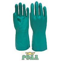 Рукавиці для захисту від слабких розчинів хімічних кислот і лугів, (комплектація до спецодягу під замовлення)