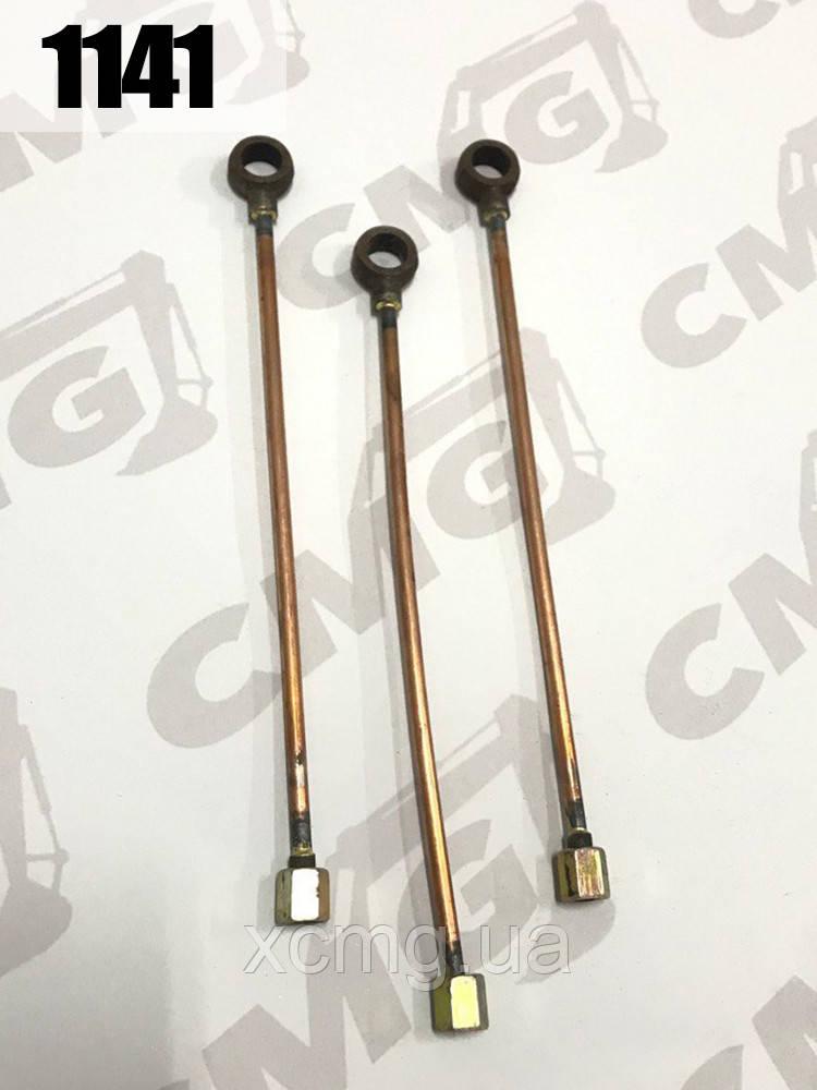 Трубка гальмівна ZL50.12.10 / 25см фронтального навантажувача XCMG ZL50G