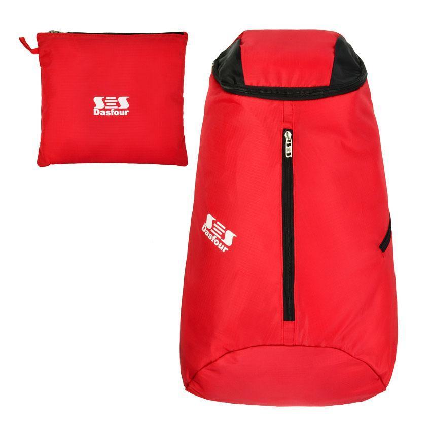 Рюкзак городской складной Dasfour Zeppelin Красный (20637)