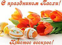 Коллектив Mobileparts поздравляет Вас с праздником Пасхи!
