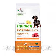 Корм Trainer Dog SENSITIVE (Трейнер Сенситів) Adult MINI With Lamb Rice для собак дрібних порід ягня рис, 800 г