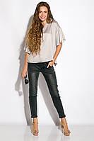 Блуза женская свободного покроя 118P154 (Стальной), фото 1