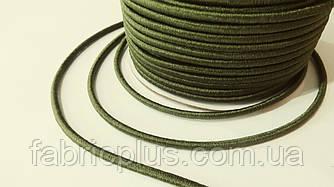 Резинка шляпная 2.5 мм хаки