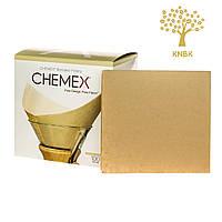 Фільтри для Кемекса Chemex 6/8/10 cup (Натуральні 100 шт.)