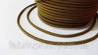 Резинка шляпная 2.5 мм светло-коричневая