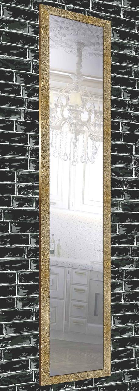Зеркало настенное в раме Factura Gold sea bottom 45х169 см золото