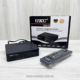 Цифровой эфирный ресивер T2 UKC 7820