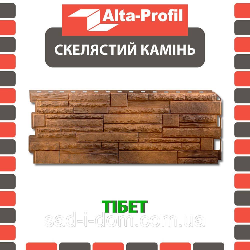 Фасадная панель Альта-Профиль Скалистый камень 1170х450х20 мм Тибет