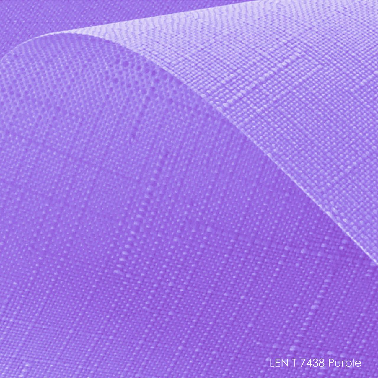 Тканинні ролети Len T-7438 purple