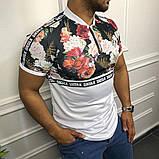 Мужская футболка Sik Silk M082 разноцветная, фото 2