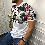 Мужская футболка Sik Silk M082 разноцветная, фото 3