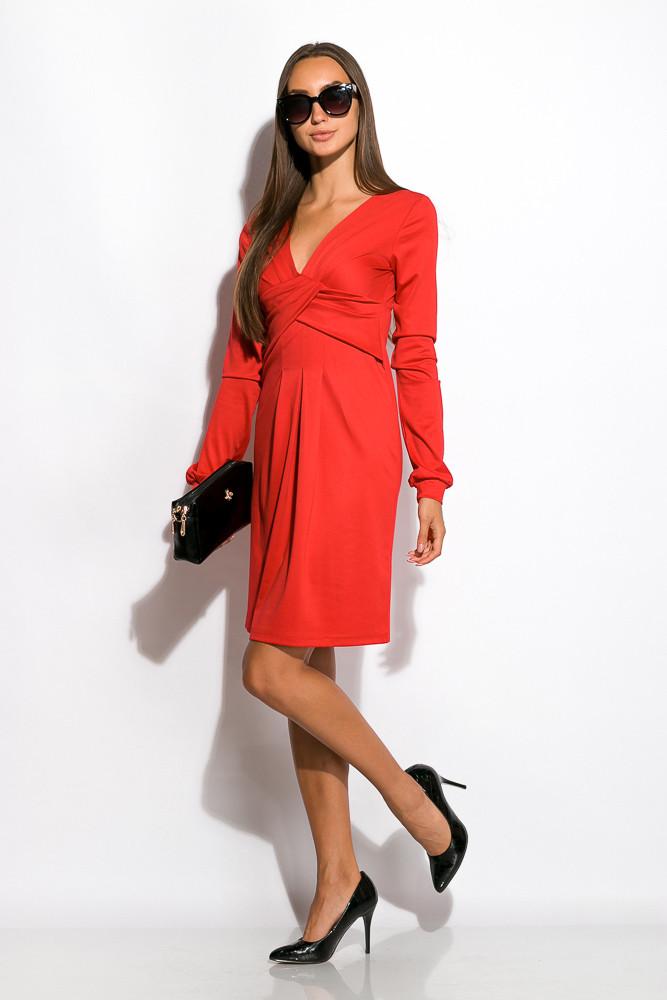 Платье женское 120P050 (Красный)